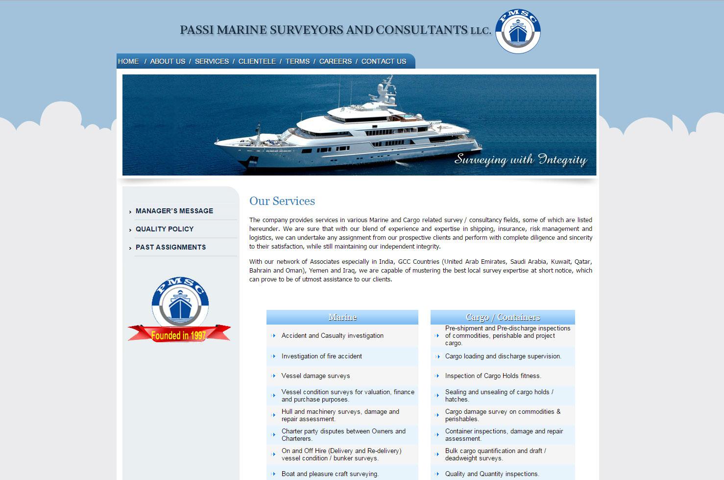 marine survey template - passi marine surveyors and consultants llc mywebworld