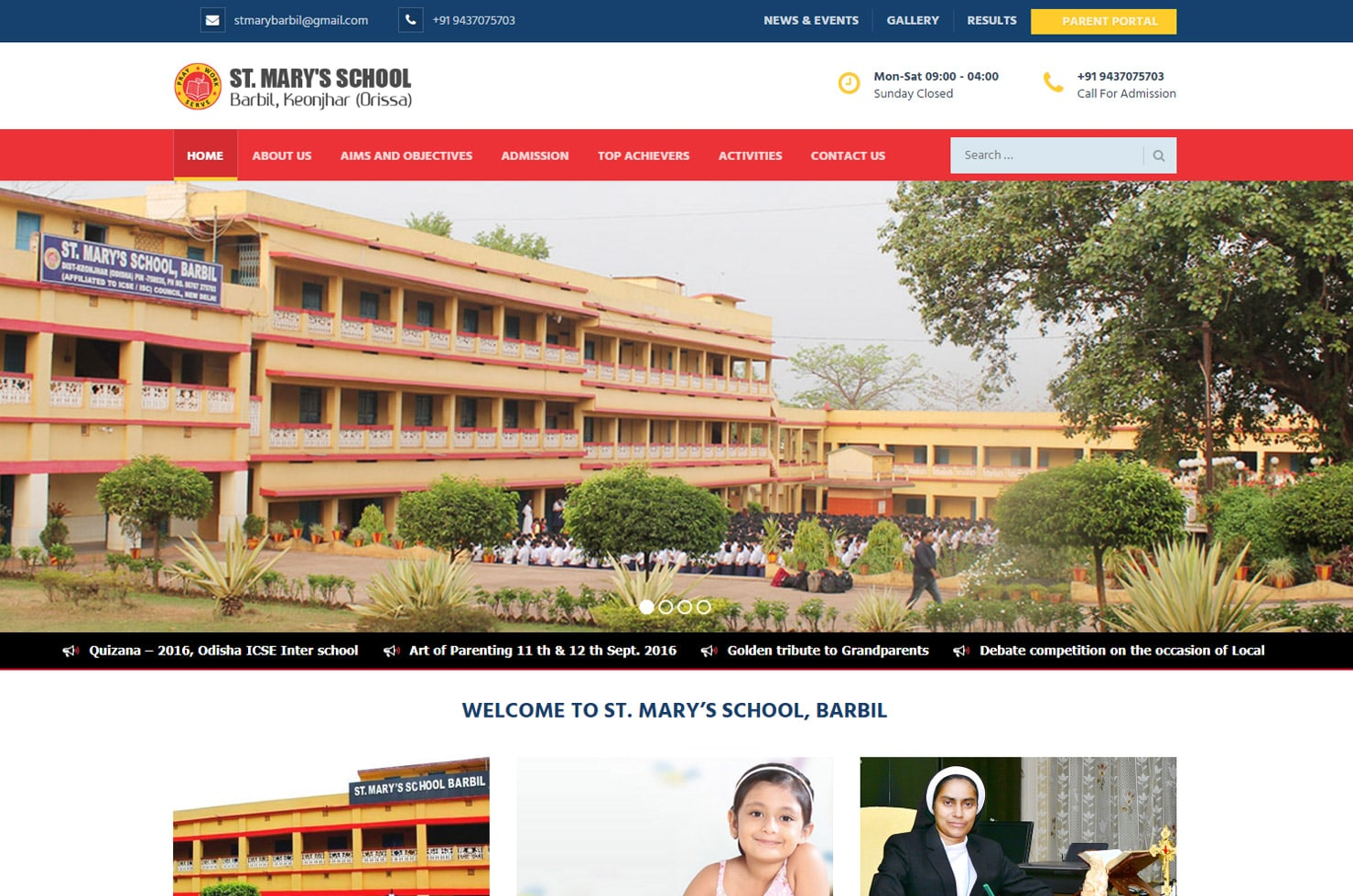 School Website Design Company in Kerala, Educational Website